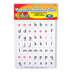 PRIMARY CONCEPTS MAGNETIC ALPHABET TILES 1421