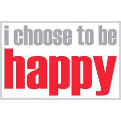 INSPIRED MINDS I CHOOSE TO BE HAPPY NOTES 20 PK 0027N
