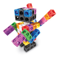 LEARNING RESOURCES MATHLINK CUBE BIG BUILDERS 200 CUBE