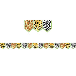 CREATIVE TEACHING PRESS SAFARI PRINTS BORDER 8339