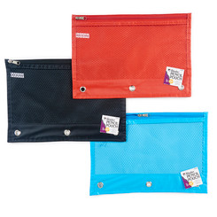 CHARLES LEONARD PENCIL POUCH 1 POCKET 24ST ASSORTED 76330ST