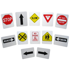 THE STORYBOARD STYRENE STREET SIGNS RSS3