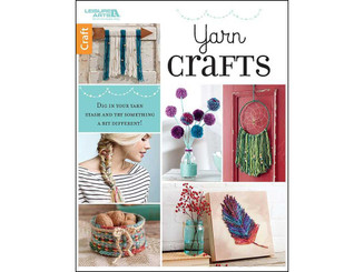 6758 LEISURE ARTS YARN CRAFTS BK