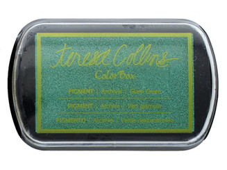 15503 COLORBOX PIGMENT INK PAD FULL SZ TC GLAM GREEN