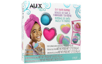 620100-3 ALEX KIT DIY SPA FIZZY BATH BOMBS