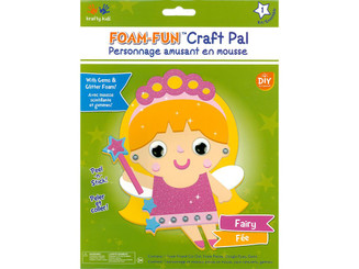 CK192K MULTICRAFT KRAFTY KIDS DIY KIT FOAM PAL FAIRY
