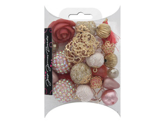 JESSE JAMES BUTTONS 10147 JESSE JAMES BEADS DESIGN INSPIRATIONS BLOOM DAHLIA