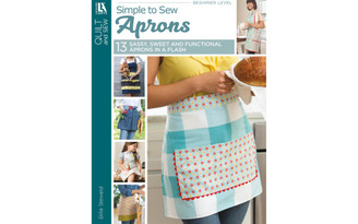 7609 LEISURE ARTS SIMPLE TO SEW APRONS BK
