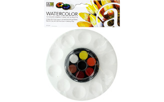 ART-3012VP ART ADVANTAGE WATERCOLOR SET COMPPALETTE 12 COLOR