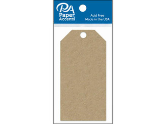 ADPCTAG-SM 357 CRAFT TAGS 2 125X4 25 25PC BROWN BAG