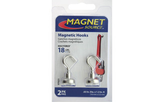 07631 THE MAGNET SOURCE MAGNET HOOK 63 18 2PC