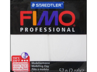 8005-0LU FIMO PROFESSIONAL CLAY 57GM WHITE