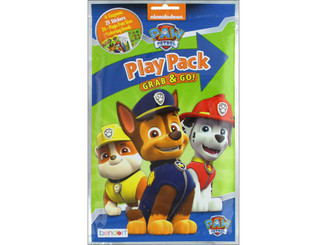 17929 BENDON COLORING BK PLAY PACK PAW PATROL