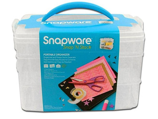 1098836 SNAPWARE SNAP N STACK MED RECT 3 LAYER