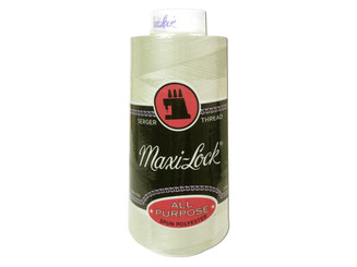 51 32674 A E MAXI LOCK THREAD 3000YD EGGSHELL