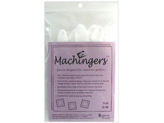 0209G-S QUILTERS TOUCH MACHINGERS GLOVES SMALL MEDIUM