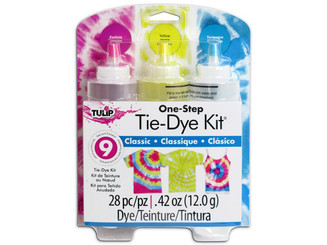 31668 TULIP ONE STEP TIE DYE KIT 3 COLOR CLASSIC