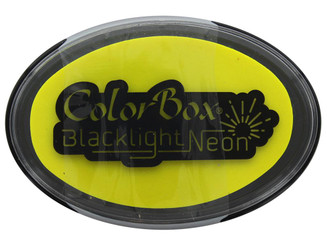 29414 COLORBOX BLACKLIGHT NEON OVAL INK PAD SUNNY