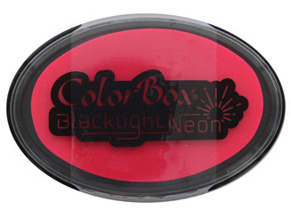 29418 COLORBOX BLACKLIGHT NEON OVAL INK PAD HOT PINK