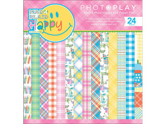 PHOTOPLAY PAPER MPH8856 PHOTO PLAY M4P HAPPY PAPER PAD 6X6