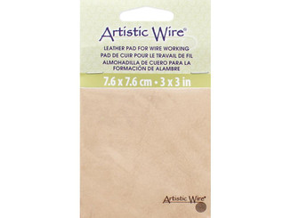 228S-020 ARTISTIC WIRE LEATHER PAD FOR WIRE WORKING