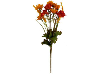 DC-341 DARICE FALL BUSH 6X14 MINI SUNFLOWER YELLOW ORANGE