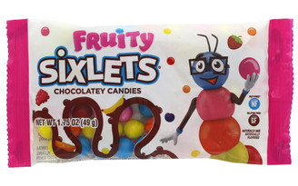93102 SWEETWORKS SIXLETS 1 75OZ FRUITY