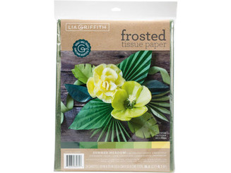 LG20081 WEROLA LGRIFFITH TISSUE PAPER FROSTED 24PC MEADOW