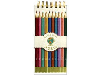 MOLLY  REX 34221 MOLLY REX SPIRAL LIST PAD COLOR YOUR WORLD