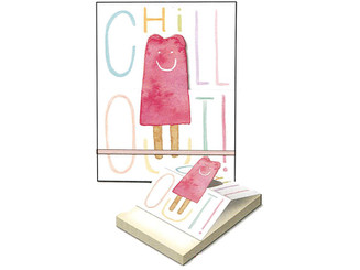 MOLLY  REX 35419 MOLLY REX POP UP POCKET NOTE PAD CHILL OUT POP