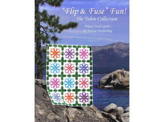 0-9896271-0-8 HAPPY STASH QUILTS FLIP FUSE FUN BK