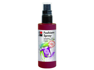 17199050034 MARABU FASHION SPRAY PAINT 3 4OZ BORDEAUX