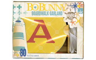 18042013 BO BUNNY BOARDWALK GARLAND BOX SET