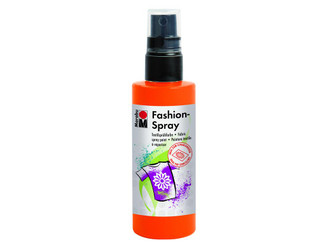 17199050023 MARABU FASHION SPRAY PAINT 3 4OZ RED ORANGE