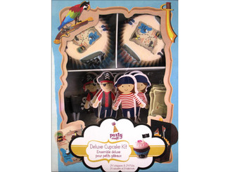 PC258C MULTICRAFT DELUXE CUPCAKE BOX 24PC AHOY MATEY