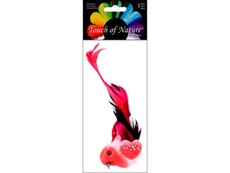 MIDWEST DESIGN IMPORTS 20487 MIDWEST DESIGN BIRD 4 5 W CLIP RED 1PC