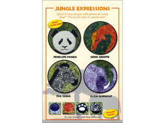 0-98600744-6 QUILT SHOP OF DELAND JUNGLE EXPRESSIONS PTRN