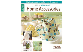 06346 LEISURE ARTS BEST OF SEW NEWS HOME ACCESSORIES BK