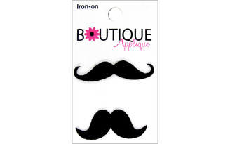 001300259 BLUMENTHAL BOUTIQUE APPLIQUE MUSTACHES 2PC