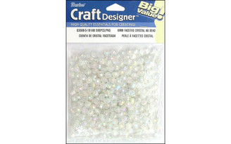 03006-5-101AB DARICE BEAD 6MM FACETED CRYSTAL AB 500PC