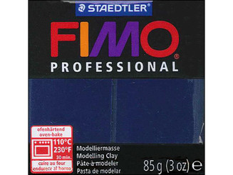 8004-34 FIMO PROFESSIONAL CLAY 85GM NAVY BLUE