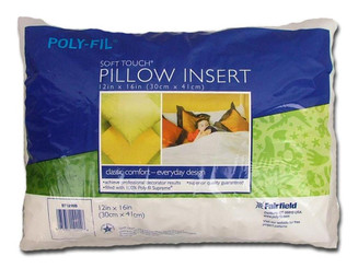 ST1216B FAIRFIELD PILLOW FORM SOFT TOUCH PF SUPREME 12X16