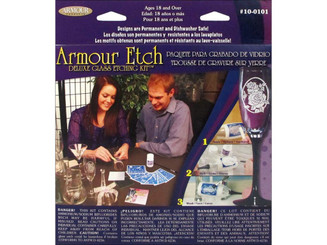 10-0101 ARMOUR GLASS ETCH DELUXE KIT