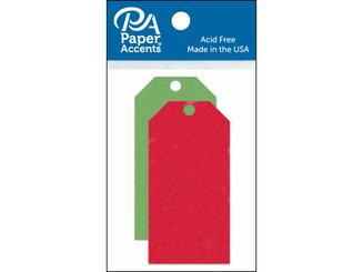ADPCTAG-XSM 1004 CRAFT TAGS 1 625X3 25 25PC CHRISTMAS