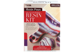 51200 LEISURE ARTS RESIN POUR KIT RED