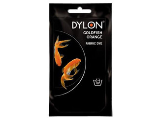 87055 DYLON PERMANENT FABRIC DYE 1 75OZ GOLDFISH ORANGE