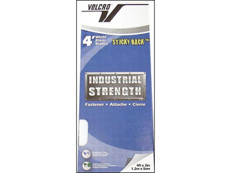 90595 VELCRO INDUSTRIAL STRENGTH TAPE 2 X4FT PKG WHITE