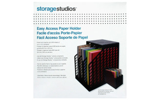 CH92579 STORAGE SOLUTIONS EASY ACCESS PAPER HOLDER BLACK