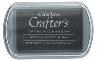 8605 COLORBOX CRAFTER S INK PAD FULL SZ STONE