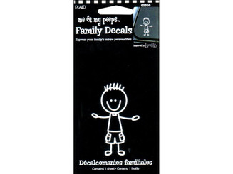 69856 PLAID PEEPS FAMILY DECALS TODDLER BOY
